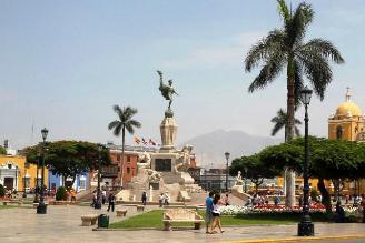 Plaza de armas de Trujillo será restaurada totalmente el próximo año