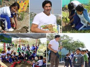 Niños de Paracas protegen el medio ambiente con Ania