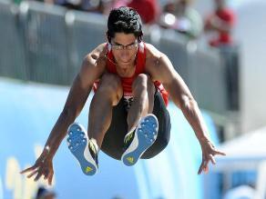 Jorge Mc Farlane logró el oro en salto largo en los Juegos Bolivarianos
