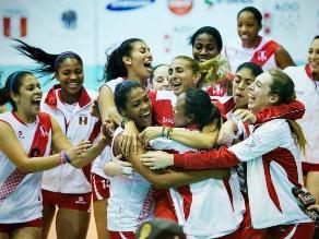 Perú derrotó a Venezuela en voleibol y sumó otro oro en Bolivarianos