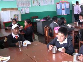 Puno: directores reclaman dotación de alimentos para escolares