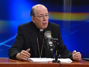 Cipriani pide a políticos bajar el tono y alcanzar la reconciliación