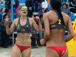 Colombia obtuvo oro en el vóley playa de los Juegos Bolivarianos