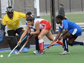 Perú obtuvo medalla de plata en hockey sobre césped de los Bolivarianos