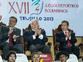 Presidente de Odebo: Perú organizó los Bolivarianos más exitosos