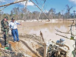 PNUD resalta acciones del Gobierno para erradicar minería ilegal