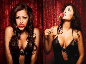 Larissa Riquelme debutó como cantante con el tema ´¡Qué rico!´