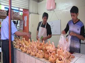 Chiclayo: empezó a incrementarse precio del pollo y pavo por navidad