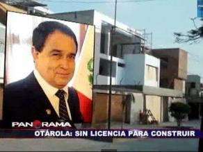 Continúan obras en casa de congresista Fredy Otárola