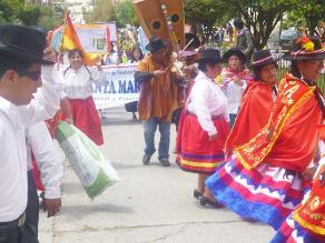 Andahuaylas: Realizan pasacalle en honor a José María Arguedas