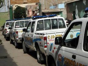 Chiclayo: unidades de serenazgo ya no tienen apoyo de la Policía