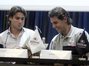 Rafael Nadal y David Ferrer estarán en el Río Open en febrero próximo