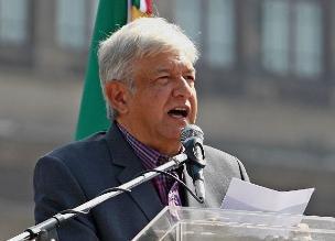 López Obrador sufrió un