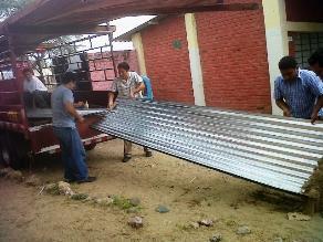Abancay: Fuertes vientos destruyen techos de decenas de viviendas