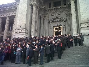 Puno: 50 audiencias diarias suspendidas por paro en Poder Judicial