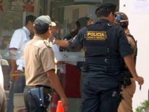 Delincuentes roban más de 5 mil soles de empresa de transportes