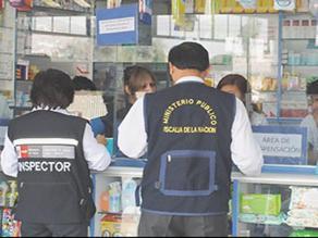 Chiclayo: Verifican si boticas y farmacias tienen documentos en regla