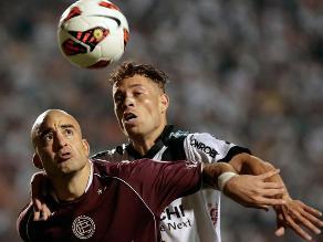 Lanús empata 1-1 con Ponte Preta y saca ventaja en final de Sudamericana