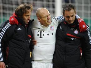 Robben se pierde el Mundial de Clubes por lesión en la rodilla derecha