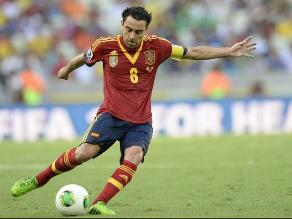 Fernando Hierro: Xavi llegará en un gran nivel al Mundial del 2014