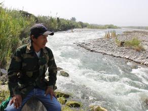 Crisanto Laura y su lucha por cuidar el río Cañete