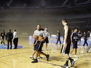 El Spurs vs. Timberwoves fue cancelado por incendio en México