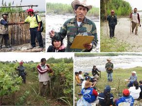 Crisanto Laura une a la población para cuidar río Cañete