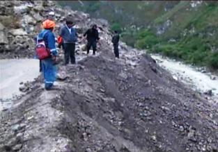 Cajamarca: Carretera Chota - Chiclayo sigue bloqueada por deslizamiento