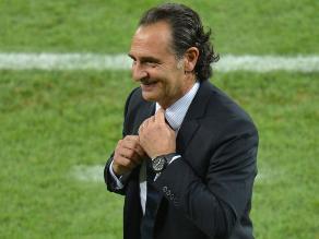 Cesare Prandelli criticó duramente el formato del sorteo del Mundial