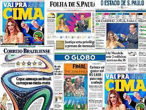 Brasil en grupo fácil aunque camino a final será difícil, según prensa