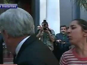 Mujer que escupió a Sebastián Piñera: No me arrepiento para nada