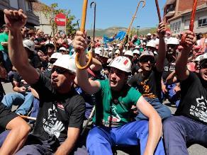 Apurímac: Ocho heridos en enfrentamiento entre mineros artesanales