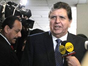 Alan García cuestiona aprobación de nueva Ley Universitaria