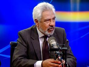 Iván Sequeiros: Un ministro de Economía no debe decidir sobre el PJ