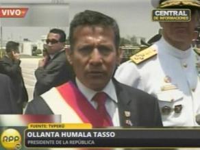 Humala pide a jueces dialogar para llegar a solución armoniosa