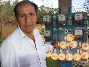 Pedro Nolasco lleva luz a todos los rincones de Huánuco