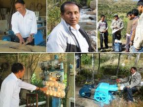 Pedro ´Mantaro´ y las microcentrales de Huánuco