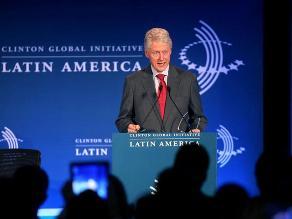 Clinton: El nuevo desafío para Latinoamérica es crecer con inclusión