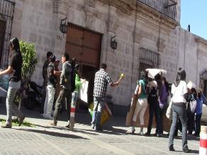 Arequipa: Estudiantes toman Escuela de Arte Carlos Baca Flor