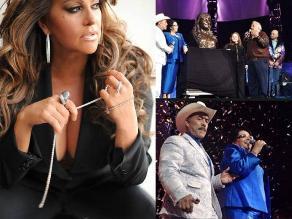 Fans recuerdan a Jenni Rivera en escenario de su última presentación
