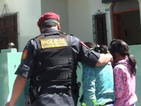 Adolescentes halladas en Pueblo Libre pasaron por medicina legal