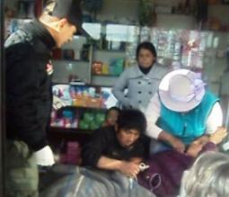 Cajamarca: serenos atienden labor de parto de gestante