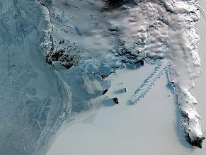 Antártida occidental se descongela un 15 % más rápido de lo pensado