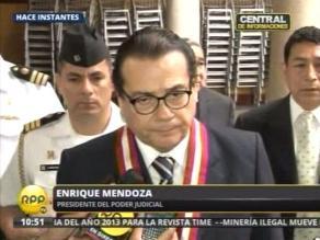 Mendoza: Nuestro ánimo es llegar a consensos