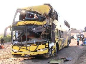 Nasca: un muerto y dos heridos en accidente vehicular