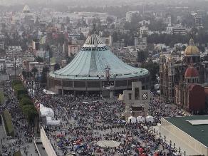 México: Peregrinos llegan al santuario de la Virgen de Guadalupe