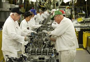 Producción industrial de Europa cae en octubre