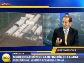Merino: Modernización de Talara no significa privatización de Petroperú