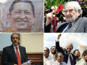 Veinte figuras de la política y la farándula que murieron en el 2013