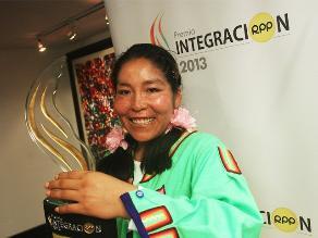 ´Sumita Corazón´ de Amalia Suaña ganó el Premio Integración 2013